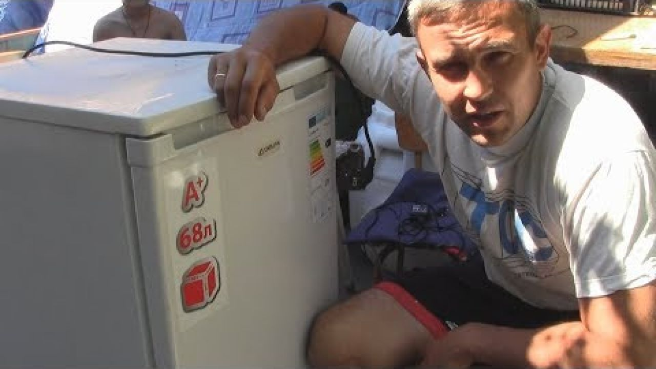 Проверка компрессора и пускового реле морозильника Delfa