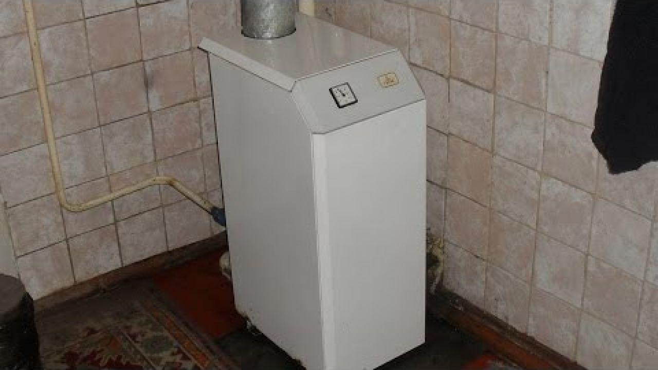 Чистка газового котла МАЯК от сажи