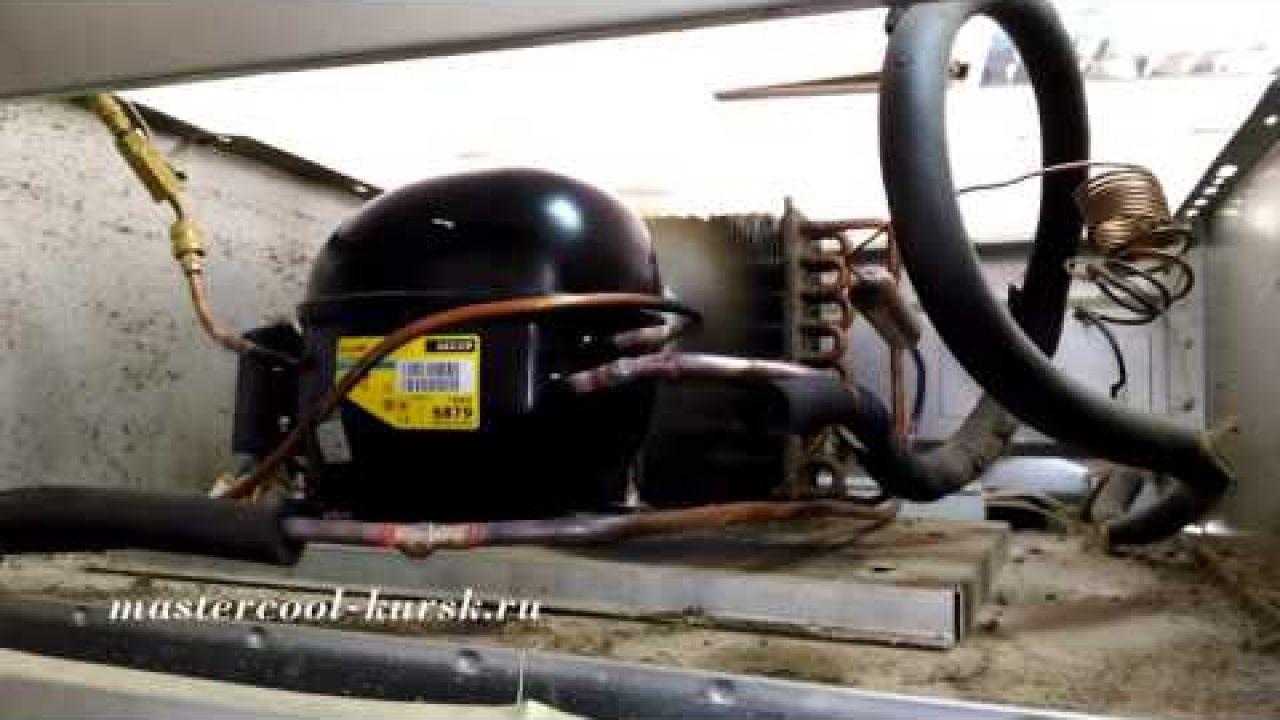 Замена компрессора в холодильнике Polair CM107 S