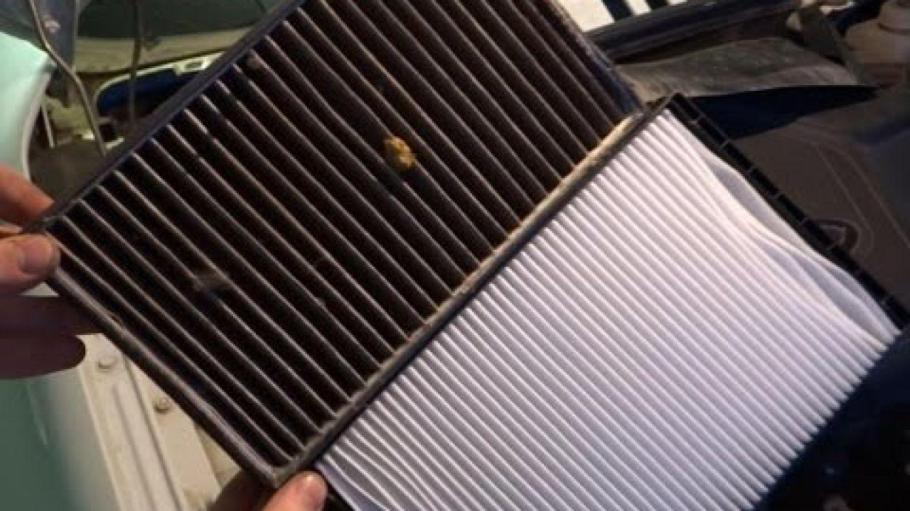 Lada Granta - замена салонного и воздушного фильтров.