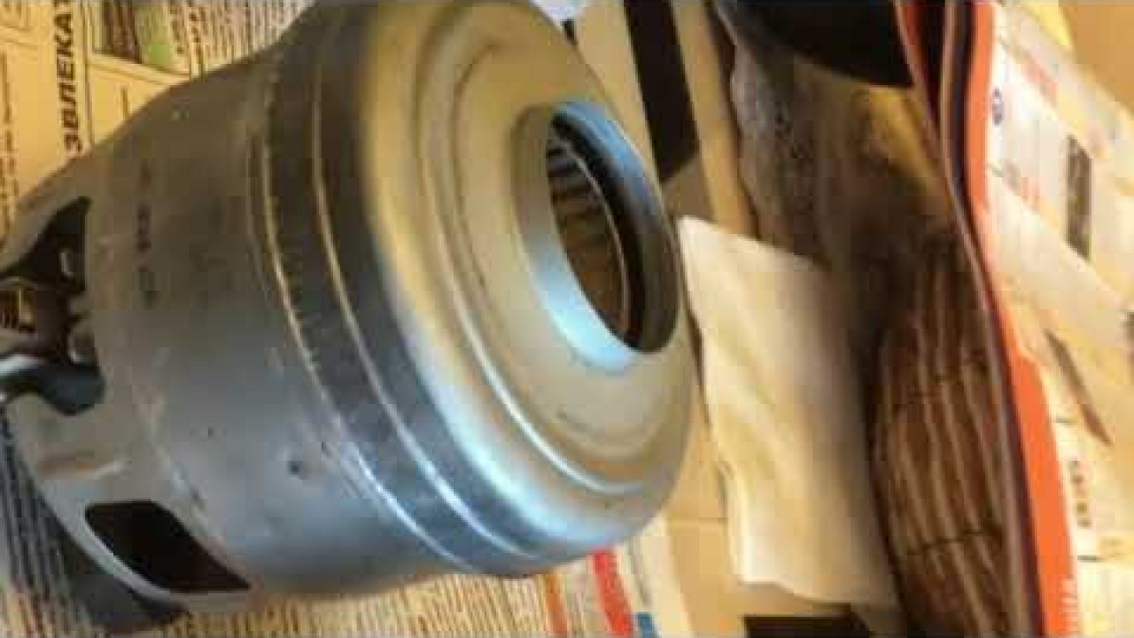 Замена двигателя пылесоса Bosch