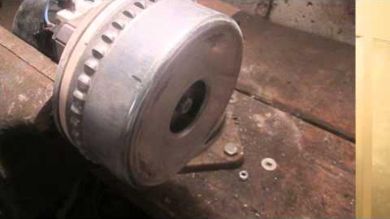 Ремонт двигателя пылесоса StarMix 1425
