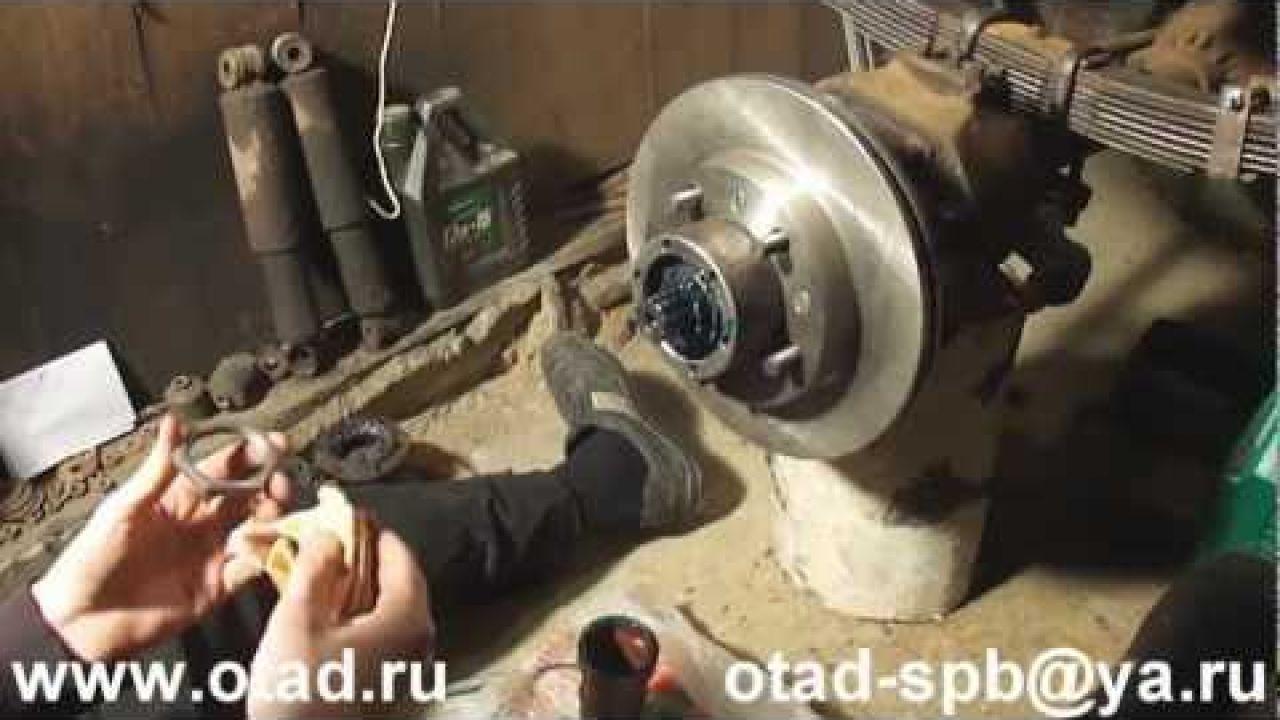 Установка передних дисковых тормозов на УАЗ
