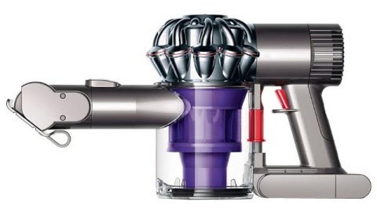 Чистка и ремонт беспроводного пылесоса Dyson