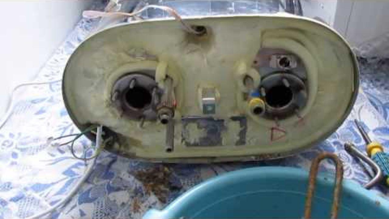 Термекс водонагреватель - разборка, промывка и замена тэнов