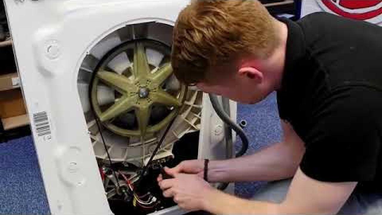 Как заменить ТЭН на стиральной машине Hoover