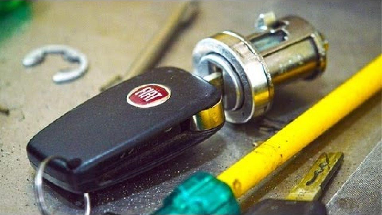 ремонт ключа зажигания FIAT