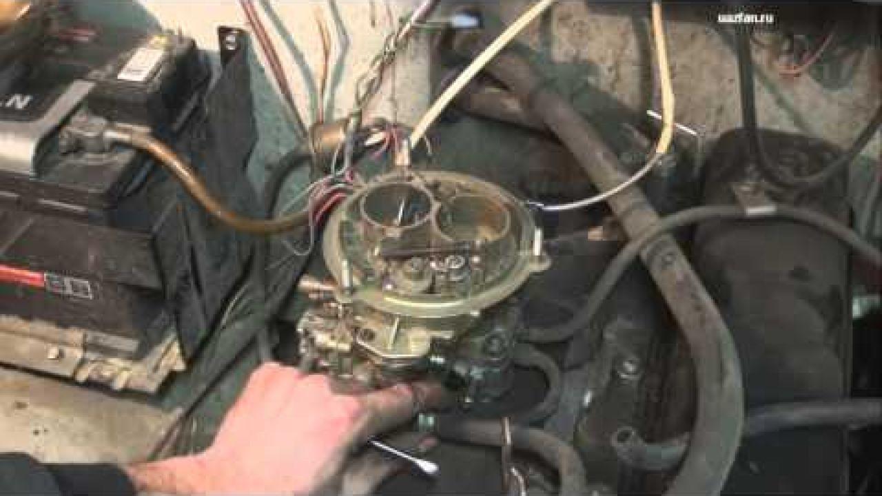 Снятие установка и регулировка карбюратора К-151 на УАЗ 31519