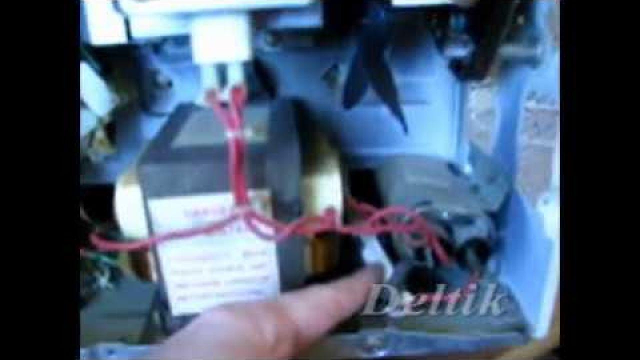 СВЧ Elenberg MG-1720M - светит, но не греет