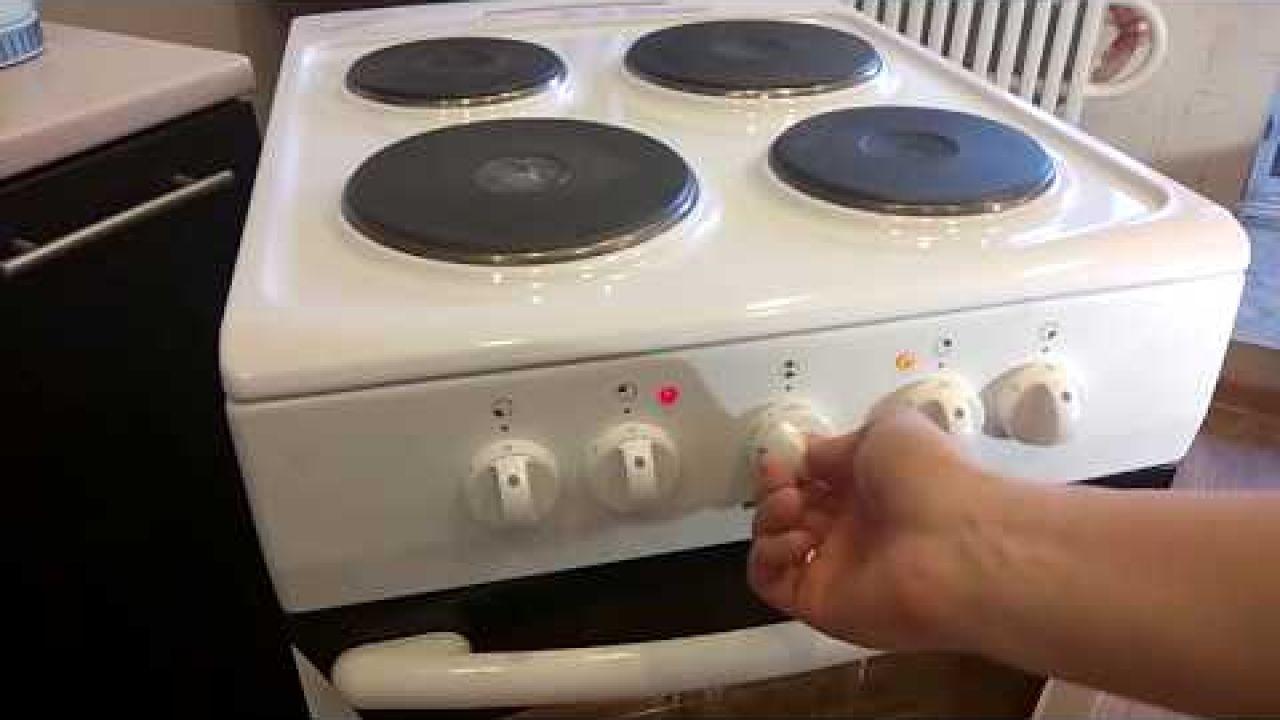 Ремонт электроплиты Hansa заменой терморегулятора