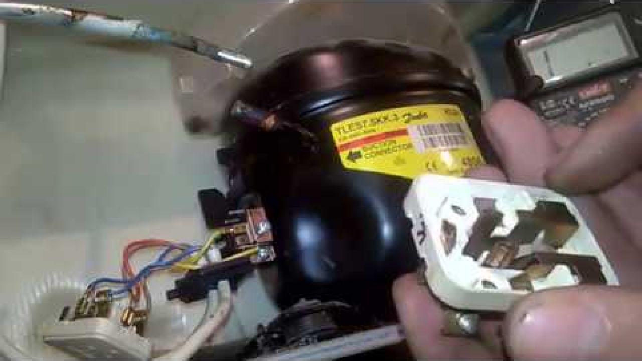 Как проверить мотор и реле на холодильнике Атлант