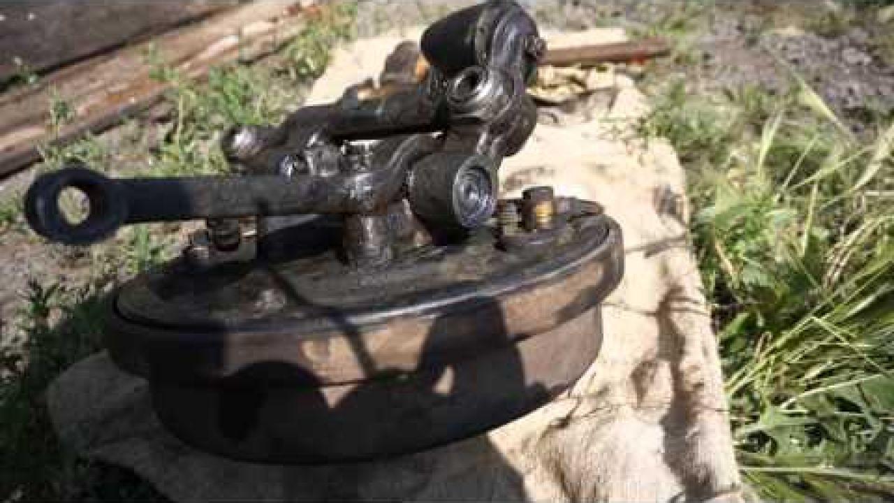 ГАЗ 2410 Замена шкворня и подшипника