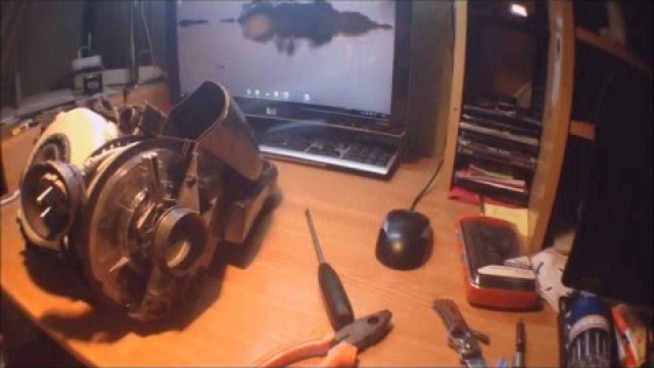 Ремонт катушки кабеля питания пылесоса Dyson