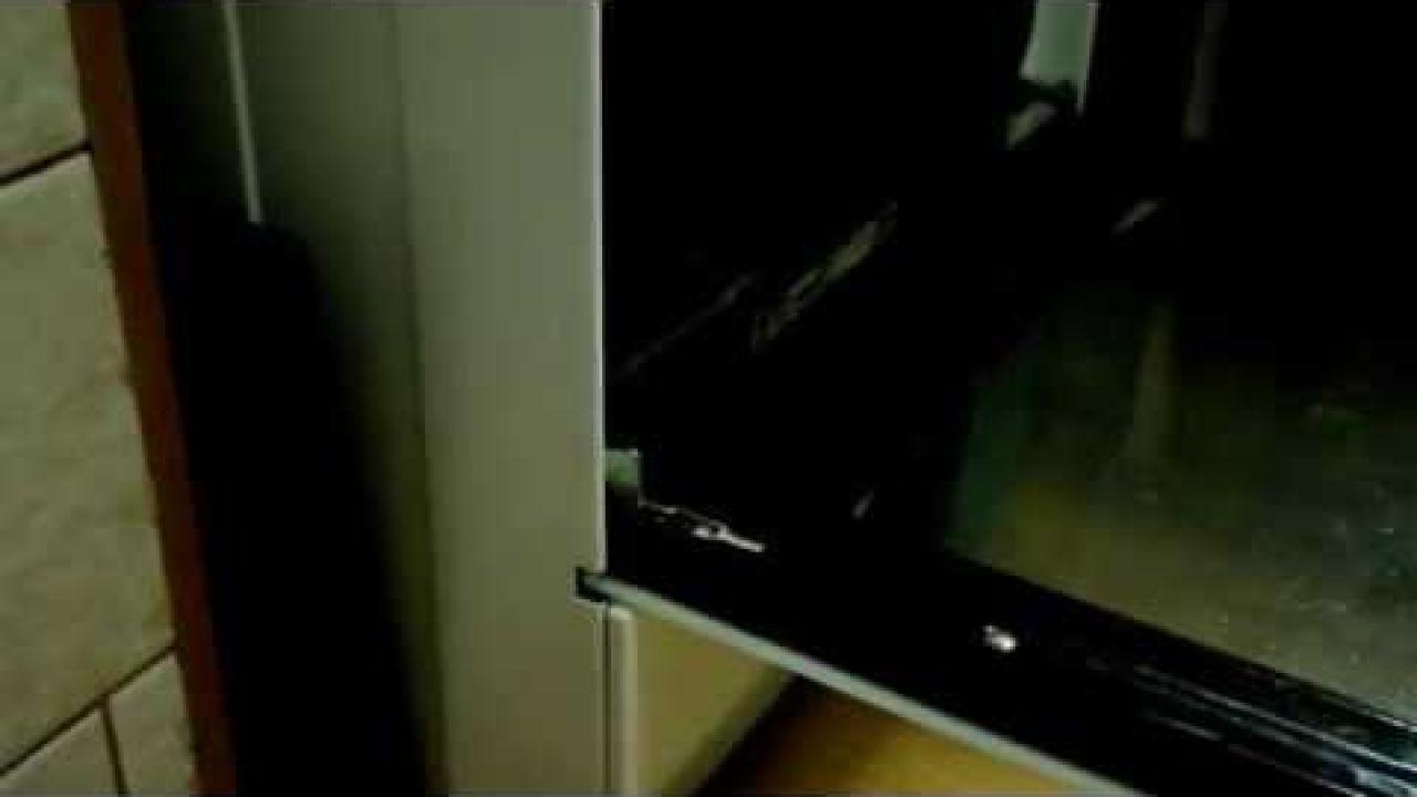 Как снять дверь духовки Gorenje