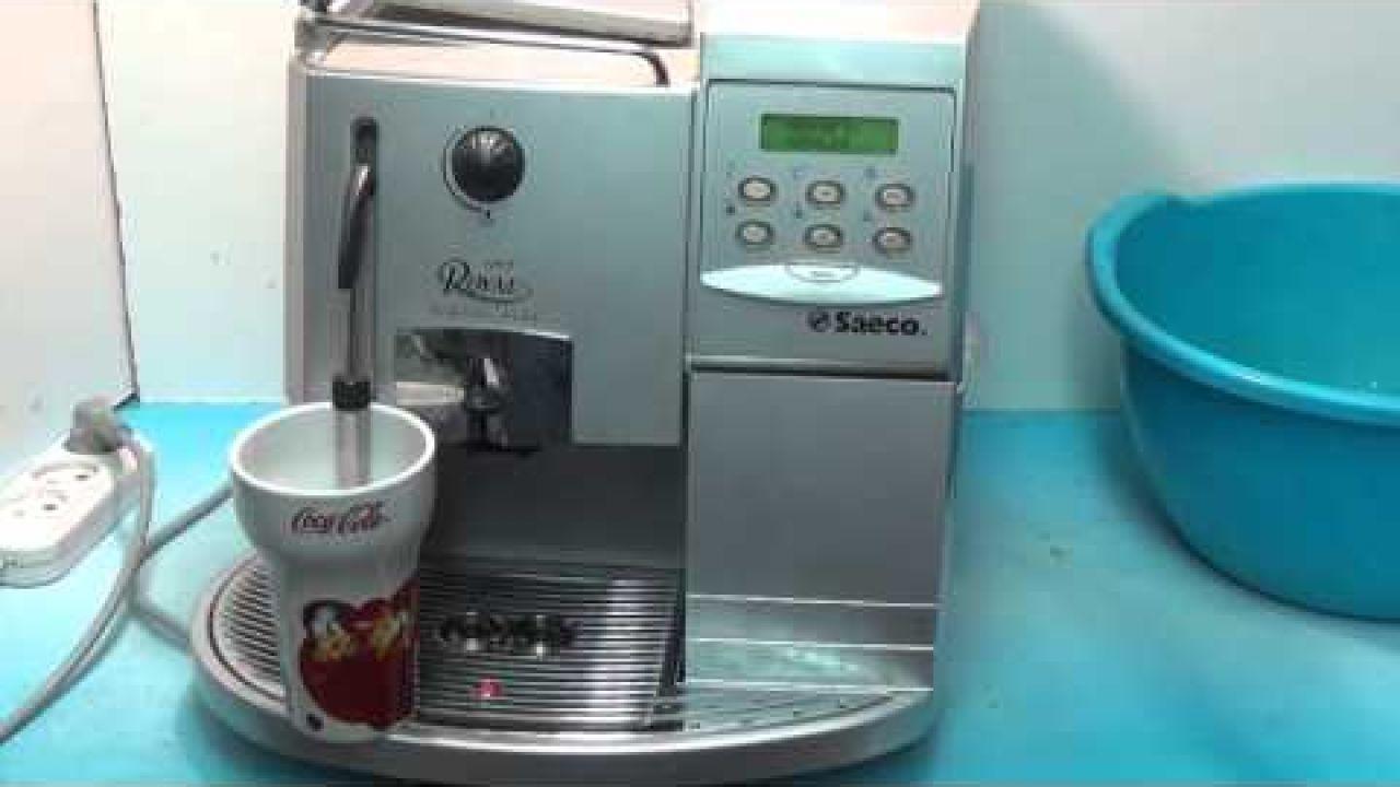 Декальцинация кофемашины Saeco Royal -  как сделать чистку от накипи
