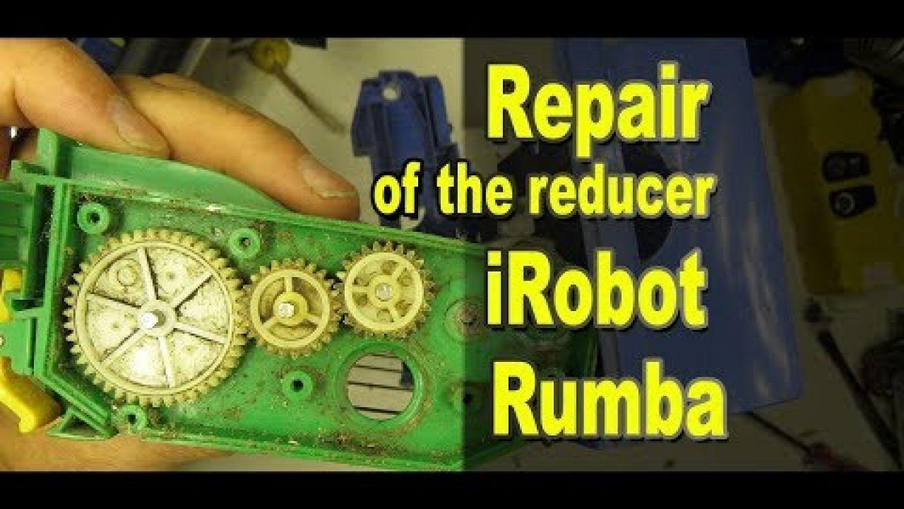 Ремонт редуктора блока щеток iRobot Roomba
