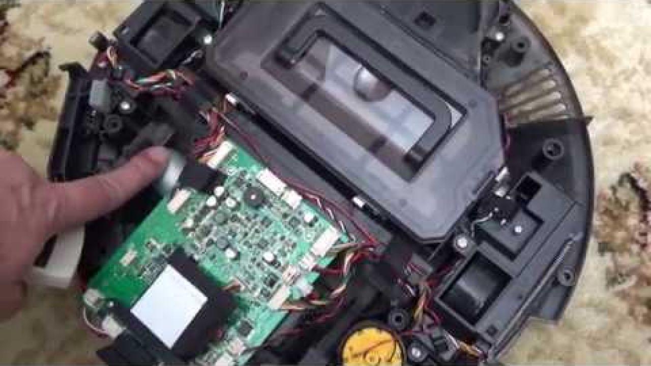 Ремонт боковой щетки робота пылесоса iLife V7S