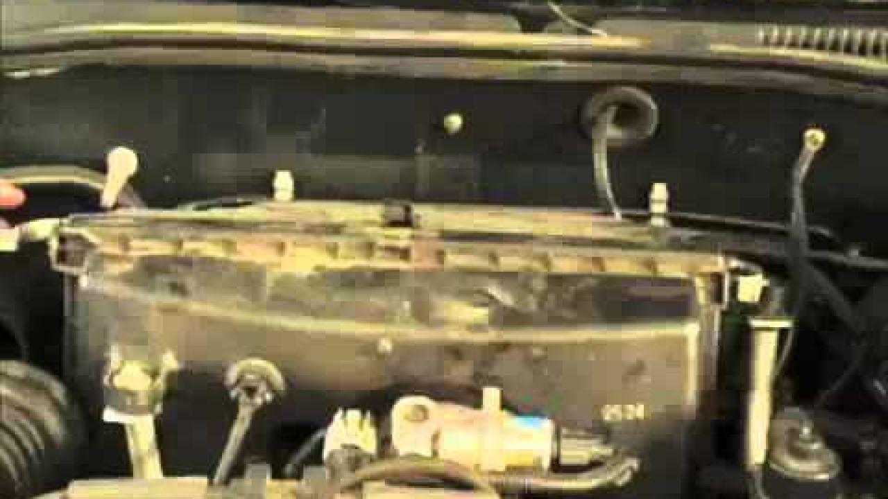 Замена воздушного фильтра Subaru Outback III