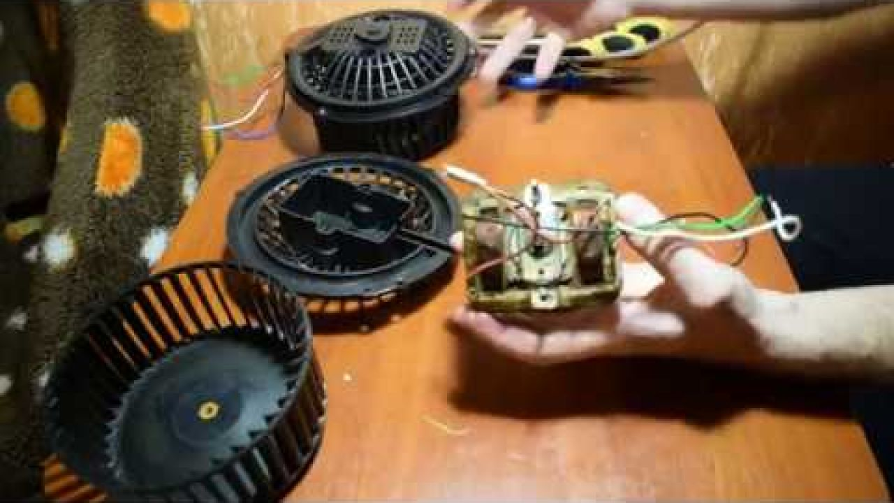 Ремонт электродвигателя вытяжки AEG