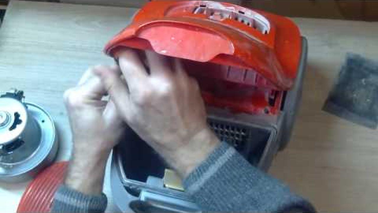 Замена двигателя в пылесосе LG