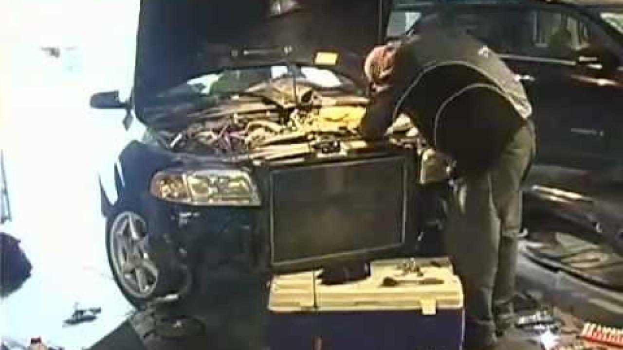 Audi A4 B5 2001 замена ремня ГРМ на двигателе 1.8T