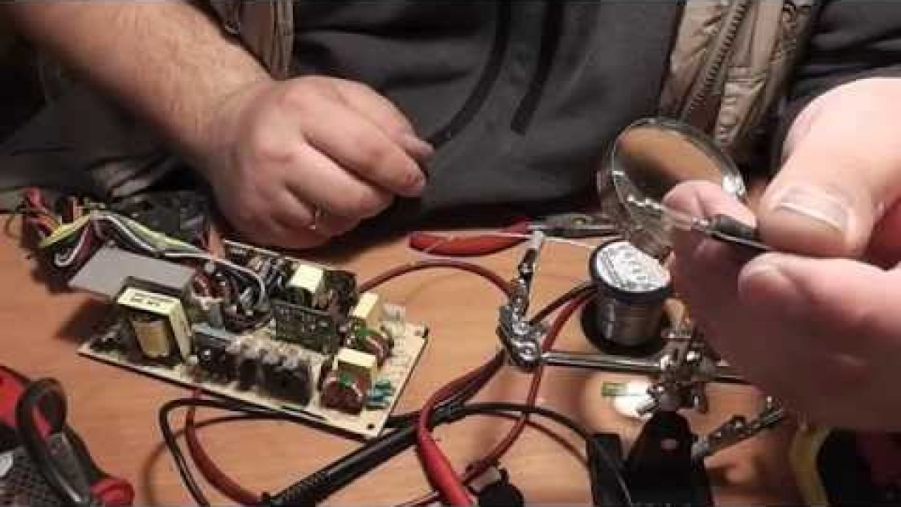Ремонтируем блок питания Power Man IW-P240F1-0 - Обзор