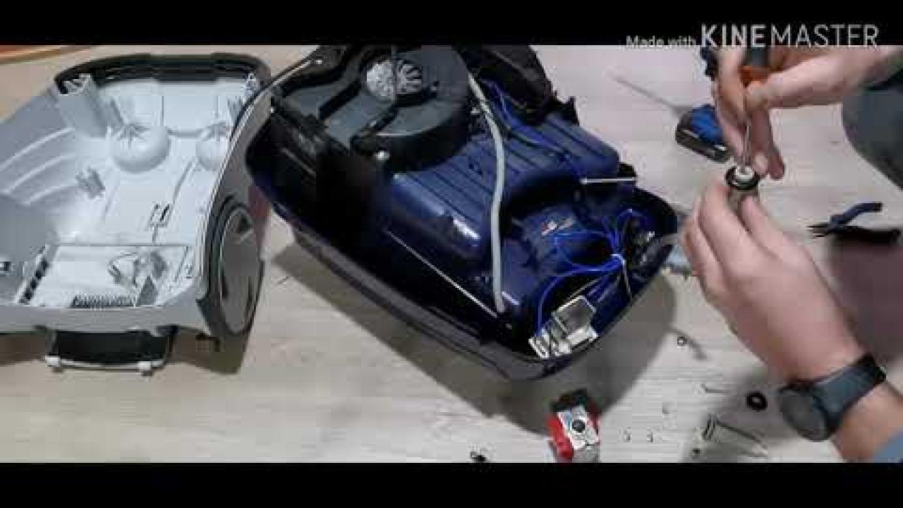 Ремонт пылесоса Thomas Twin T2. Не работает подача воды