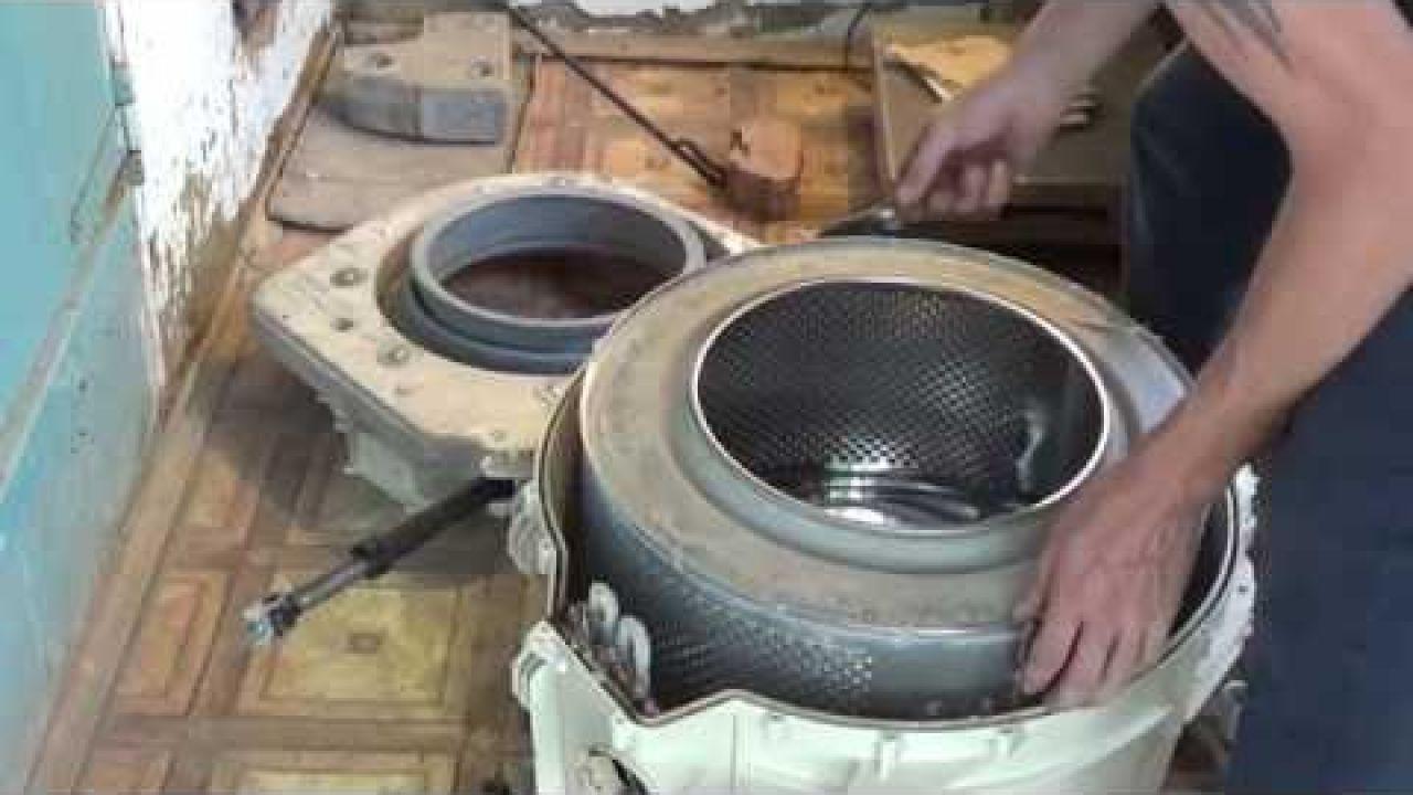 Замена подшипников стиральной машины Атлант