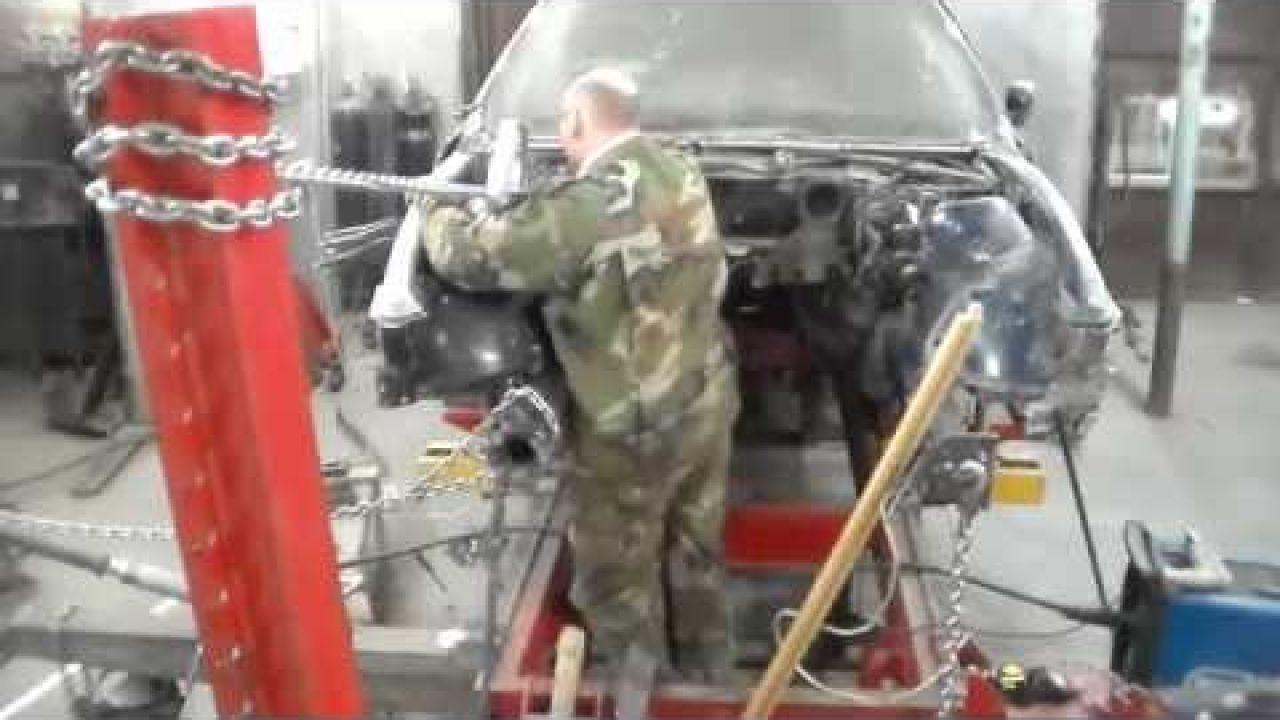 Кузовной ремонт BMW 5 E39