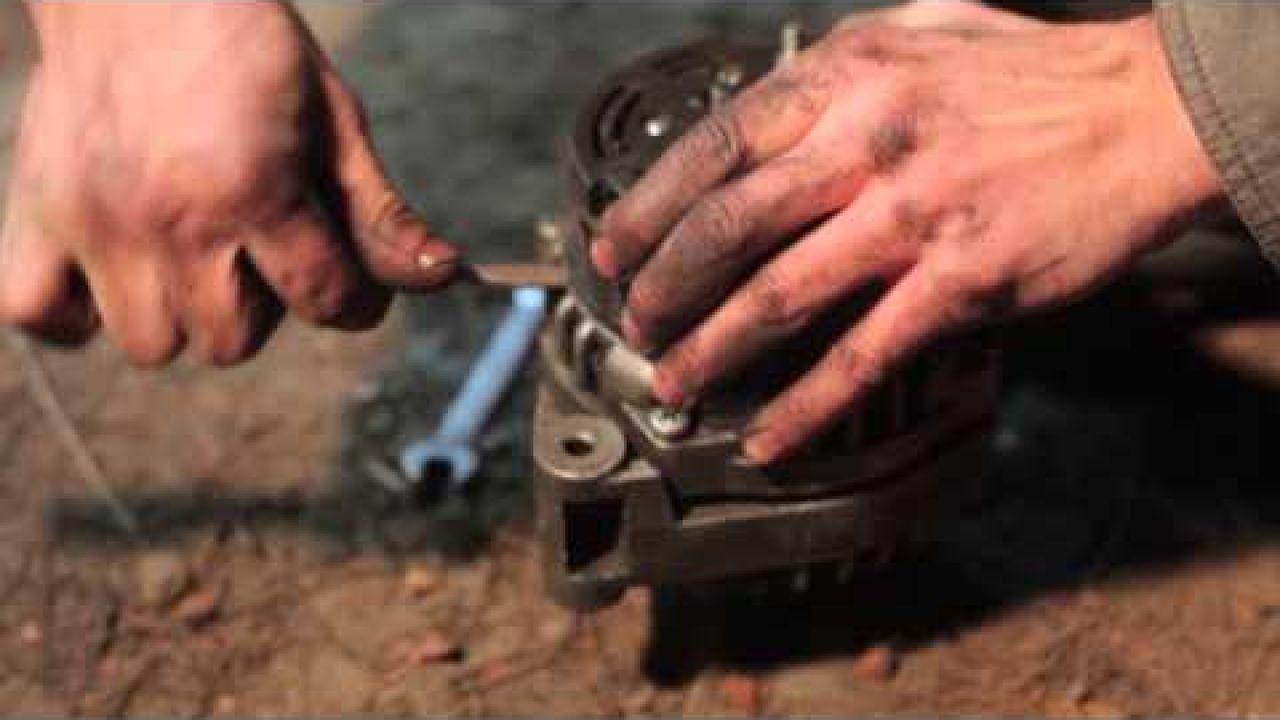 Как починить волгу замена генератора