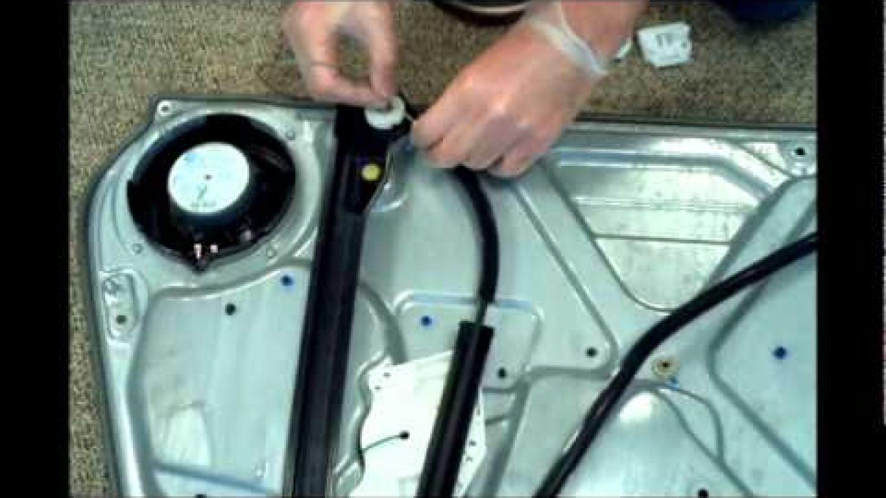 Seat Ibiza Toledo Leon ремонт оконного регулятора