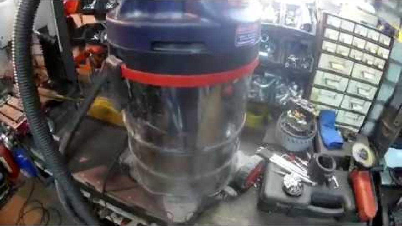 Ремонт - пылесос SPARKY VC 1431MS грохочет, нет тяги