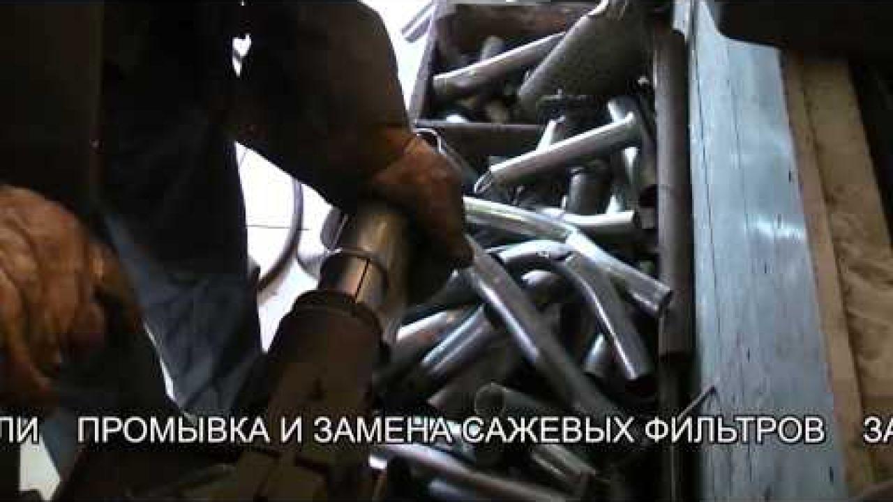 УАЗ Патриот - ремонт выхлопной системы.