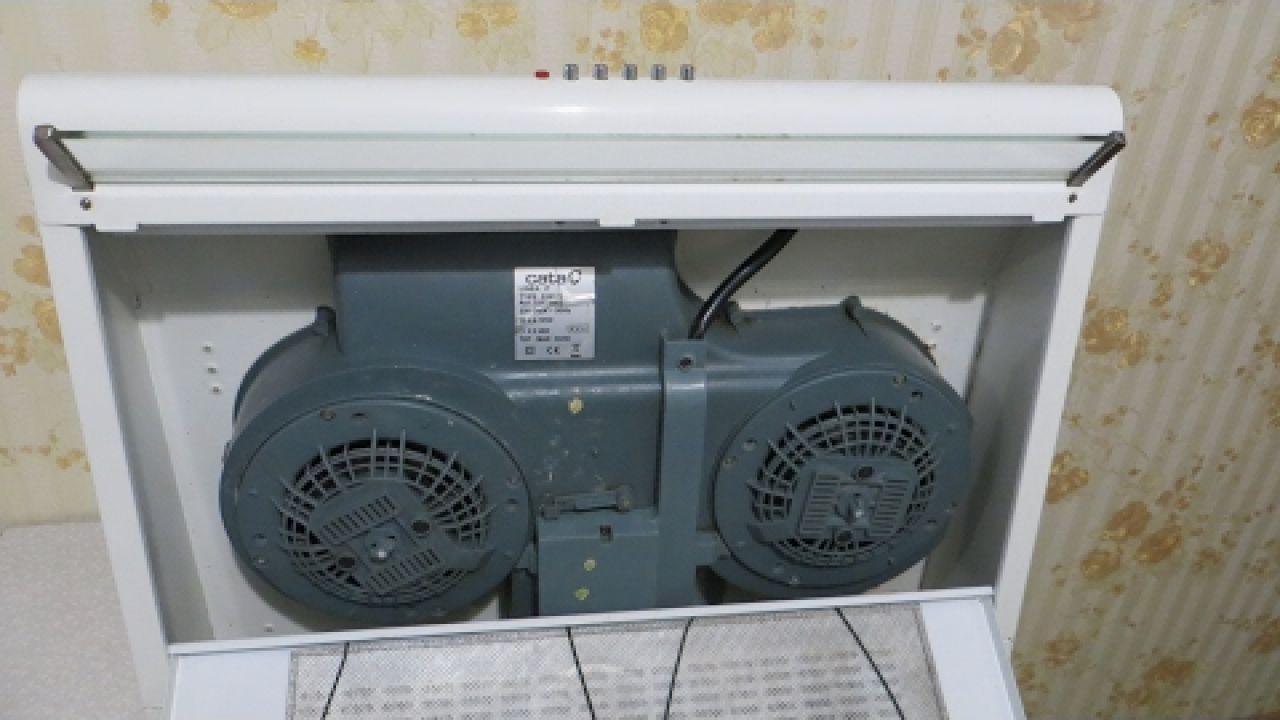 Замена термопредохранителя на вытяжке Cata