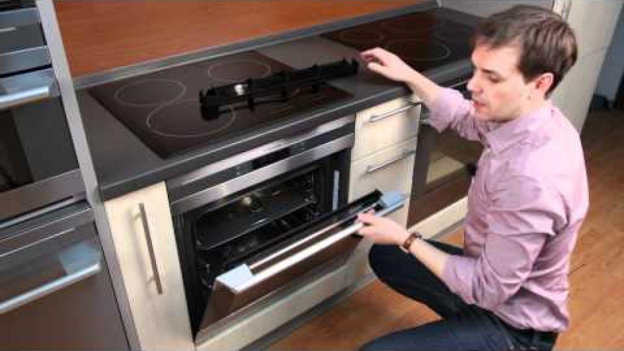 Как легко снять стекла и дверцы духовки Electrolux