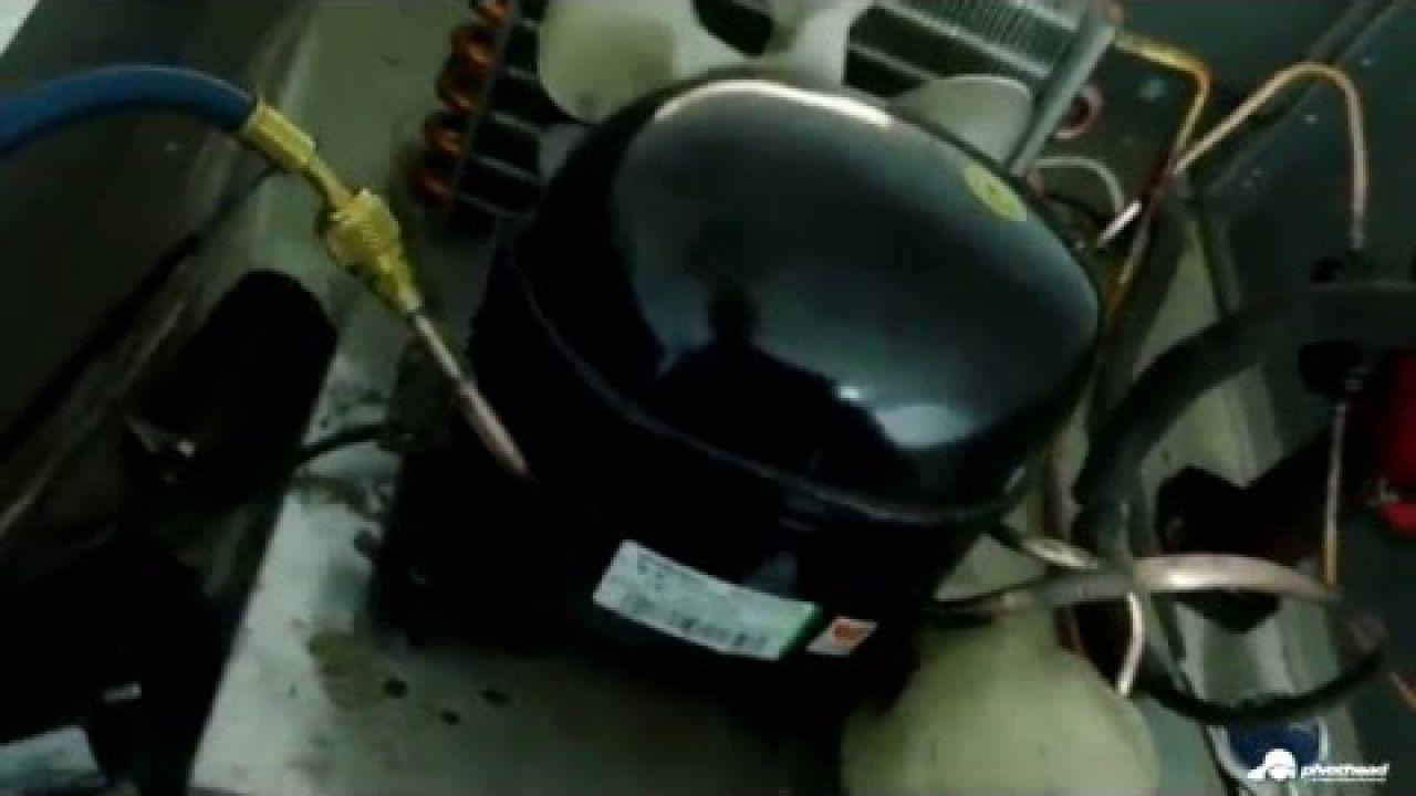 Замена компрессора в холодильнике Polair CB107-S