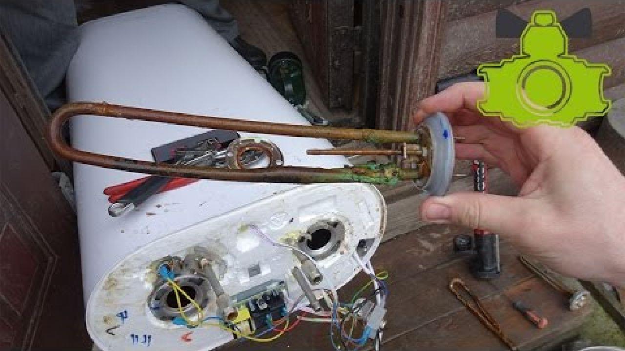 Ремонт водонагревателя Grunhelm - потёк