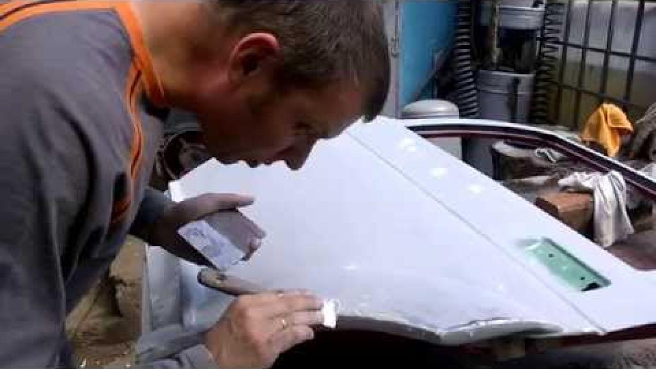 Как затирать грунт под окраску (на сухую)