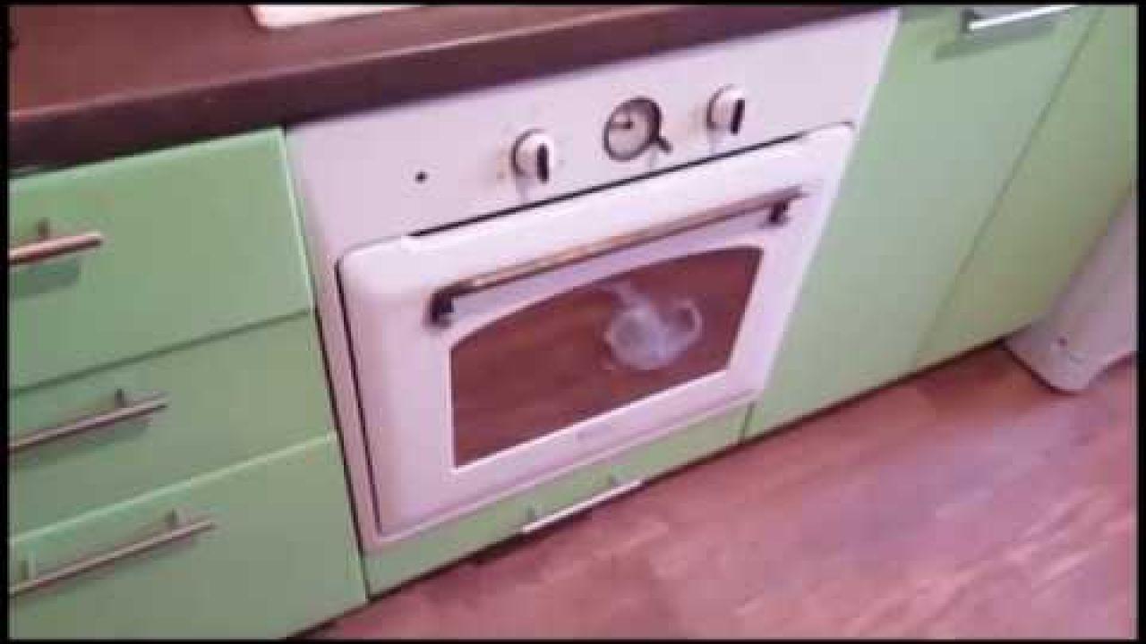 Как снять дверцу с духовки Ariston