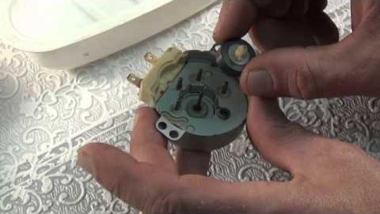 Ремонт двигателя микроволновой печи LG