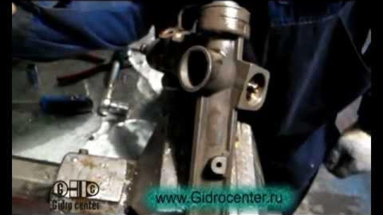Ремонт рулевой рейки BMW