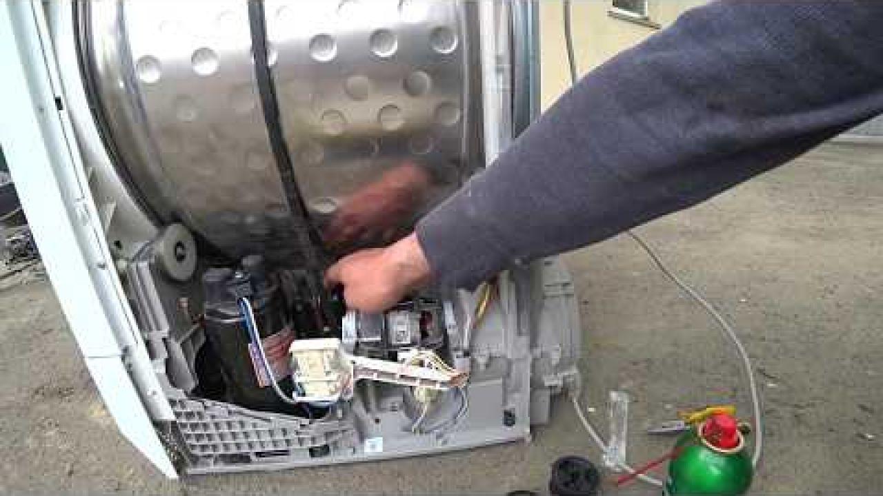 Сушильная машина Electrolux не крутит барабан
