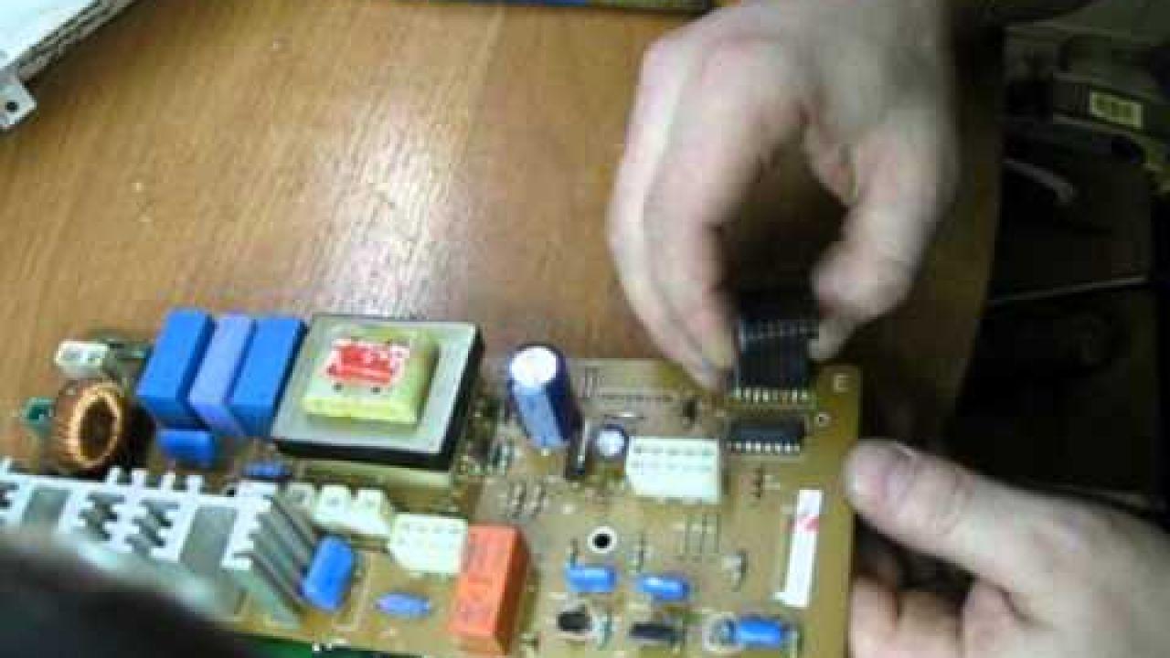 Ремонт электронного модуля (блока управления ) Samsung.
