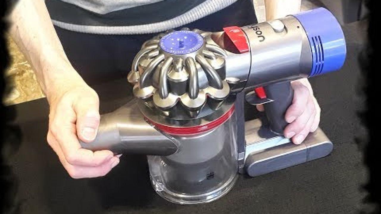 Ремонт аккумулятора портативного пылесоса Dyson V7