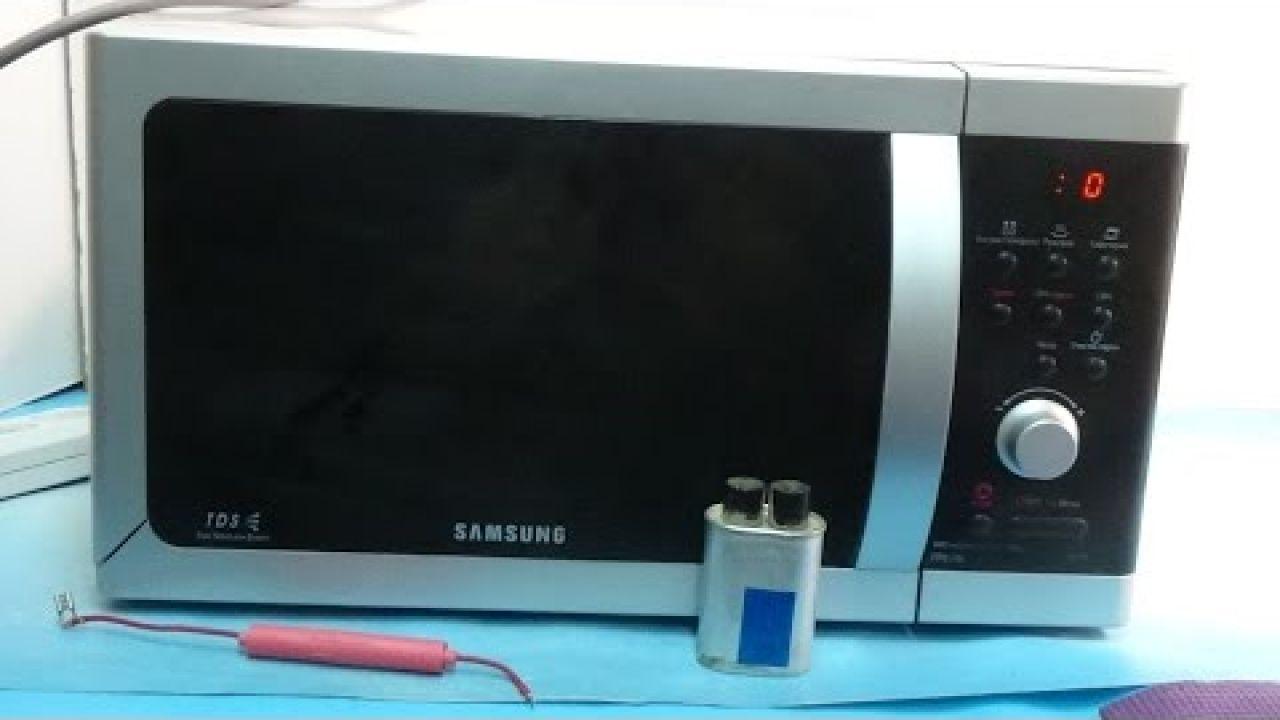 Ремонт микроволновки Samsung -  не греет