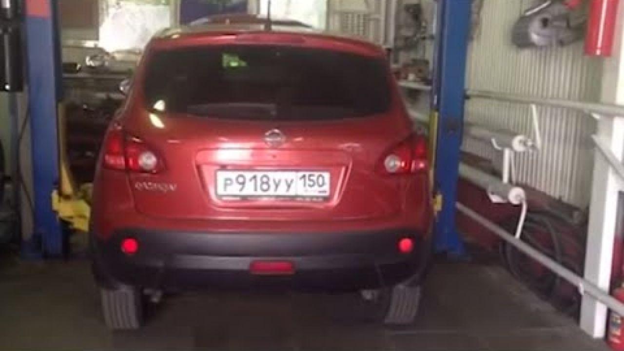 Ремонт катализатора Nissan Qashqai.