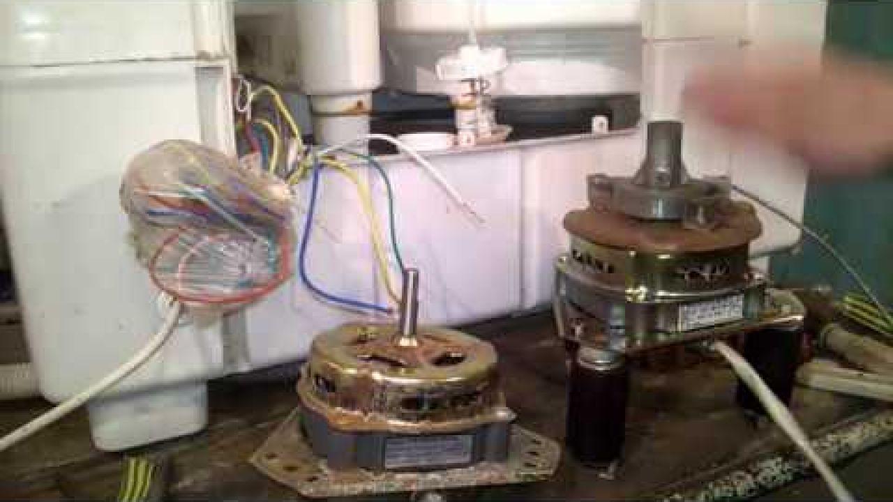 Стиралка Сатурн - нет отжима, как поменять сальник и подключить мотор центрифуги